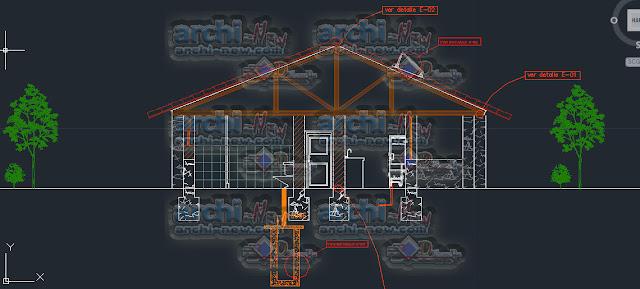 download-autocad-cad-dwg-file-bungalow-mini-house
