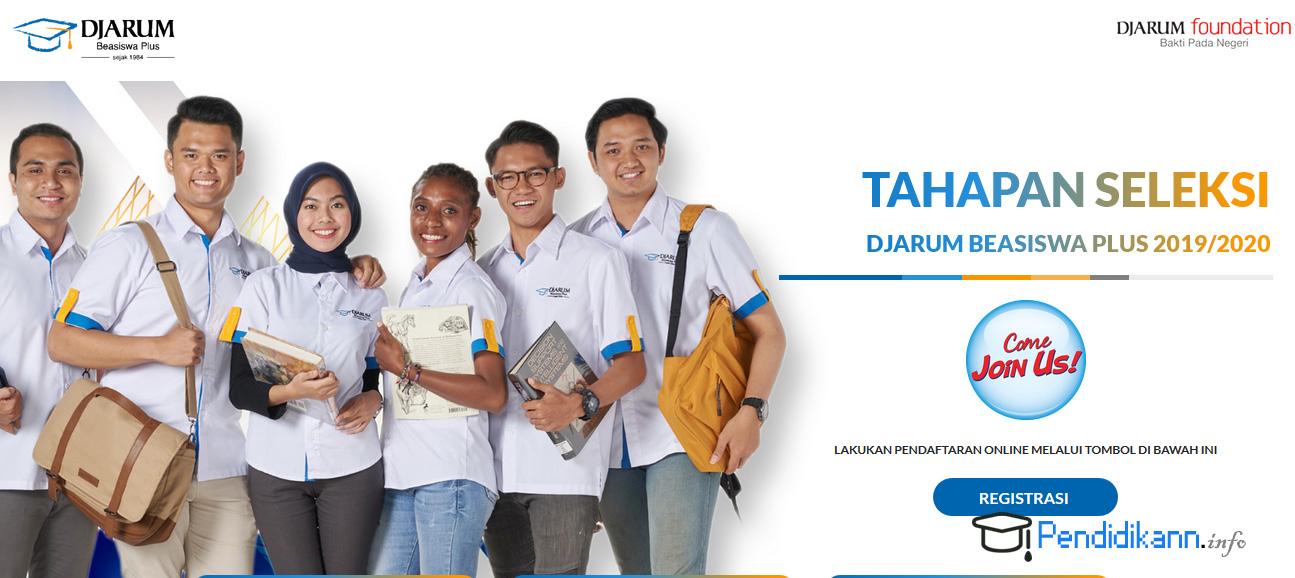 Info Pendaftaran Beasiswa Djarum Terbaru