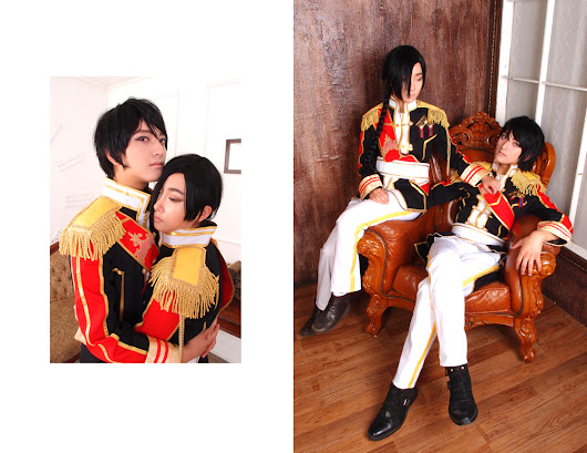 BL Cosplay photoshoot + meeting with our beloved inspirational artist ♥