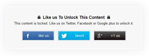 Share to Unlock