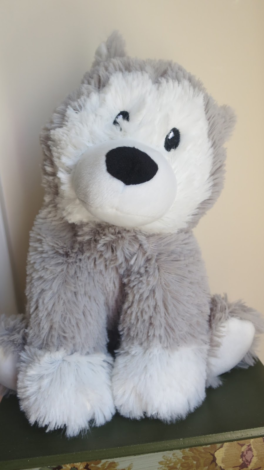 Whom You Know Warmies 174 Cozy Plush Husky Is Exactly What