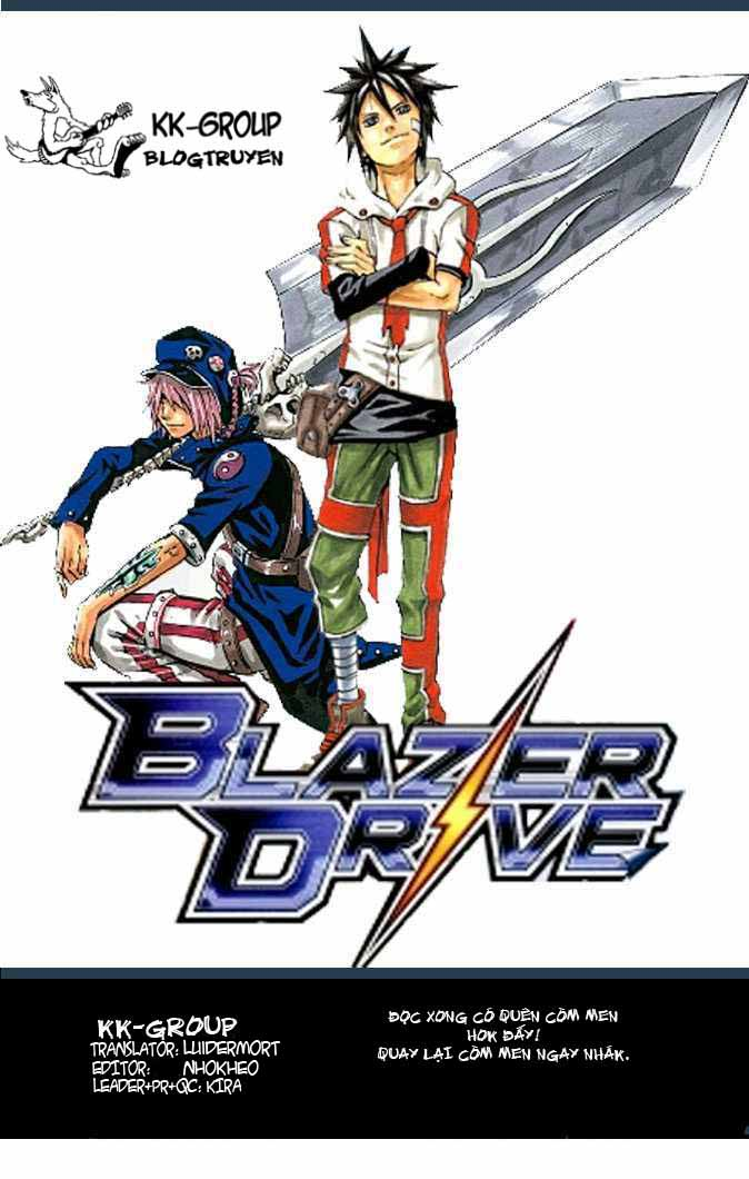 Blazer Drive chap 21: through the obscure time trang 45
