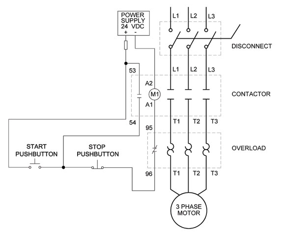 Wiring Diagram: Chapter 1.1. Full-voltage Non-reversing 3