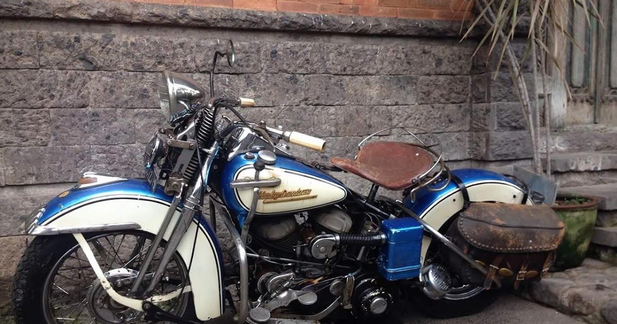 Dijual Moge Harley Klasik WLC750 Tahun 1952   LAPAK MOTOR ...
