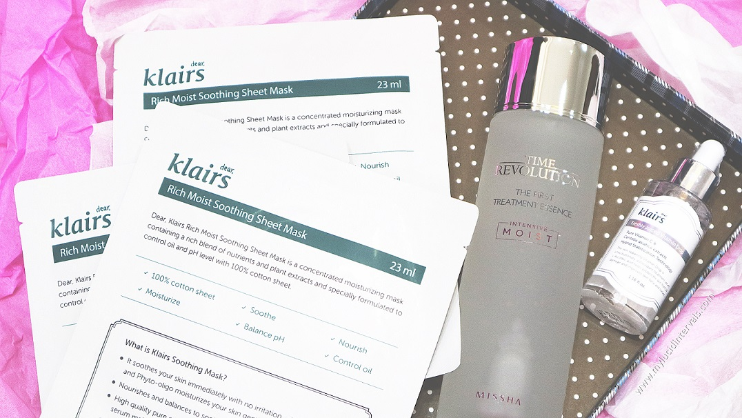 Popular Korean Skincare Products Review: Dear Klairs Freshly Juiced