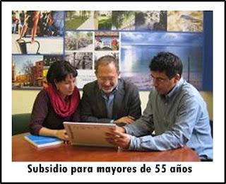 El subsidio para mayores de 55 años, requisitos