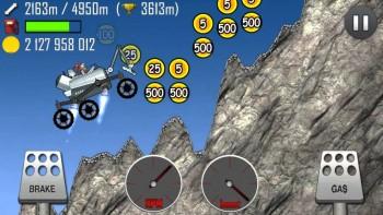 Hill Climb Racing على الكواكب الأخرى