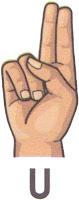 Bahasa Isyarat U