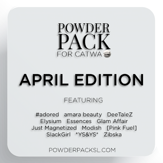 Powder Pack for April: ORDER SOON!
