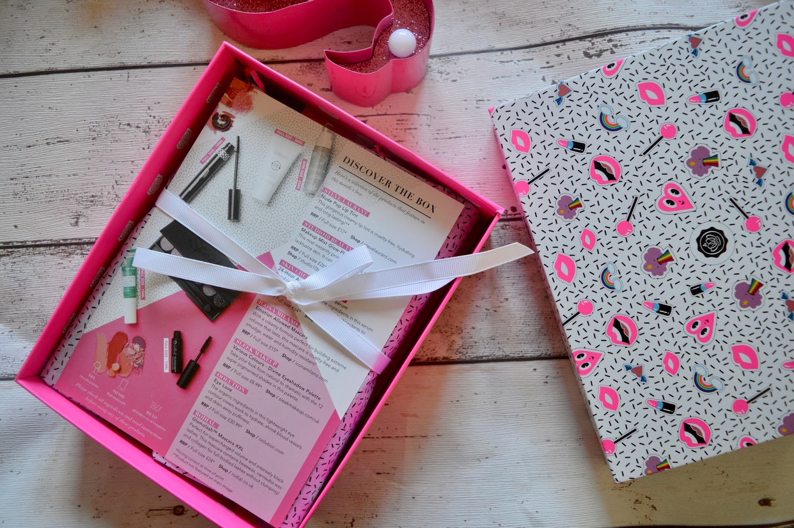 February Glossybox Galentines edition