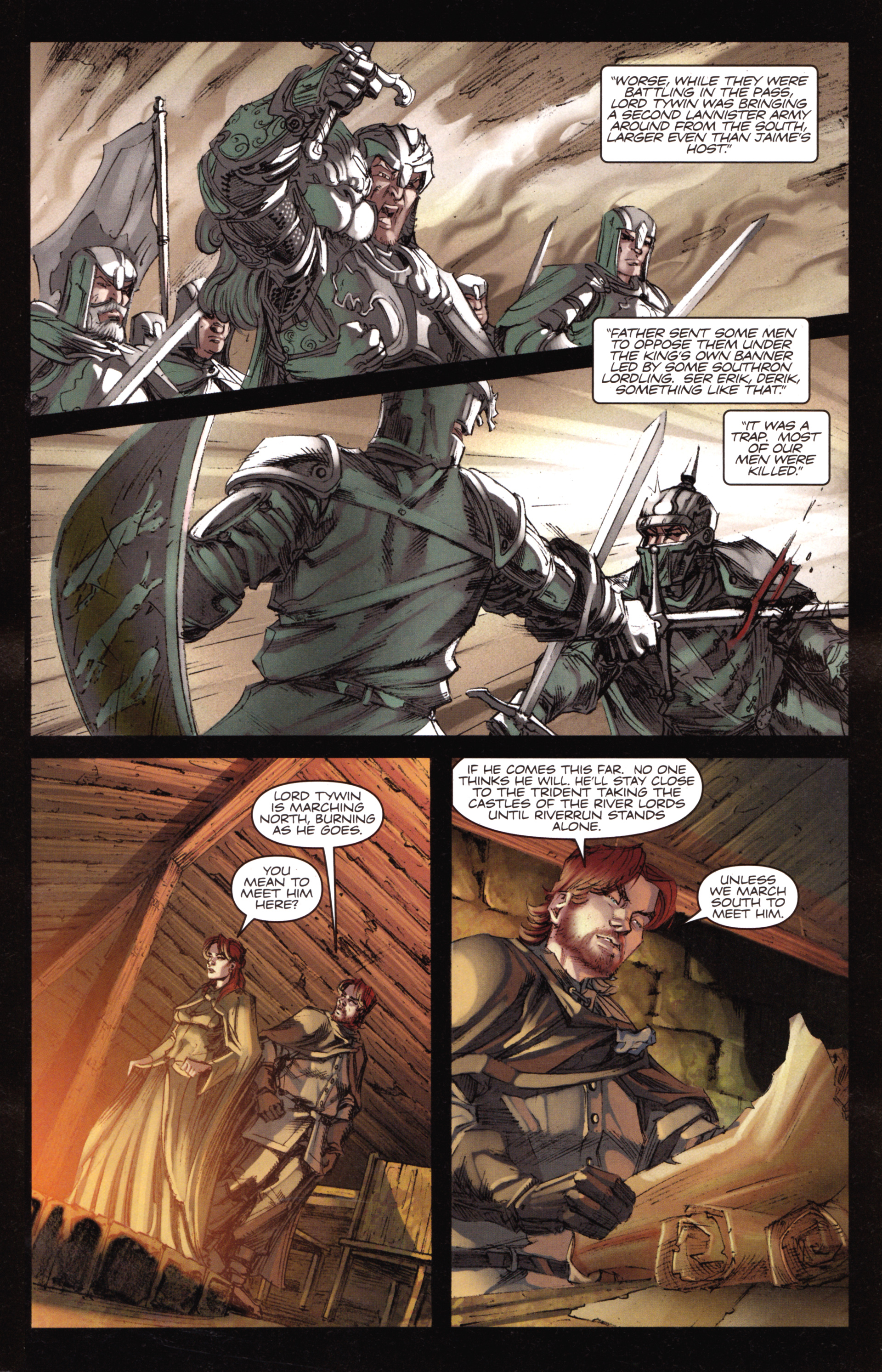 Read online A Game Of Thrones comic -  Issue #18 - 11