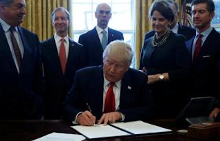 In Sweeping Move, Trump Puts Regulation Monitors In U.S. Agencies