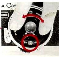 Konica C35 Automatic, FIlm ASA Setting