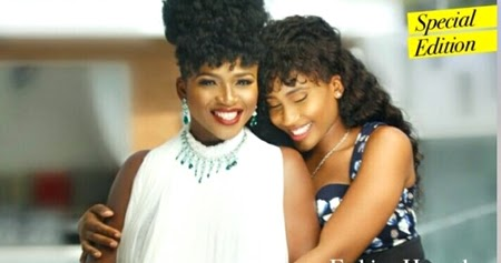 Image result for waje and daughter