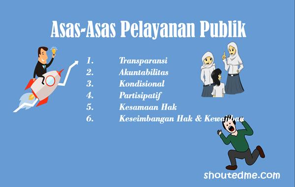 asas pelayanan publik