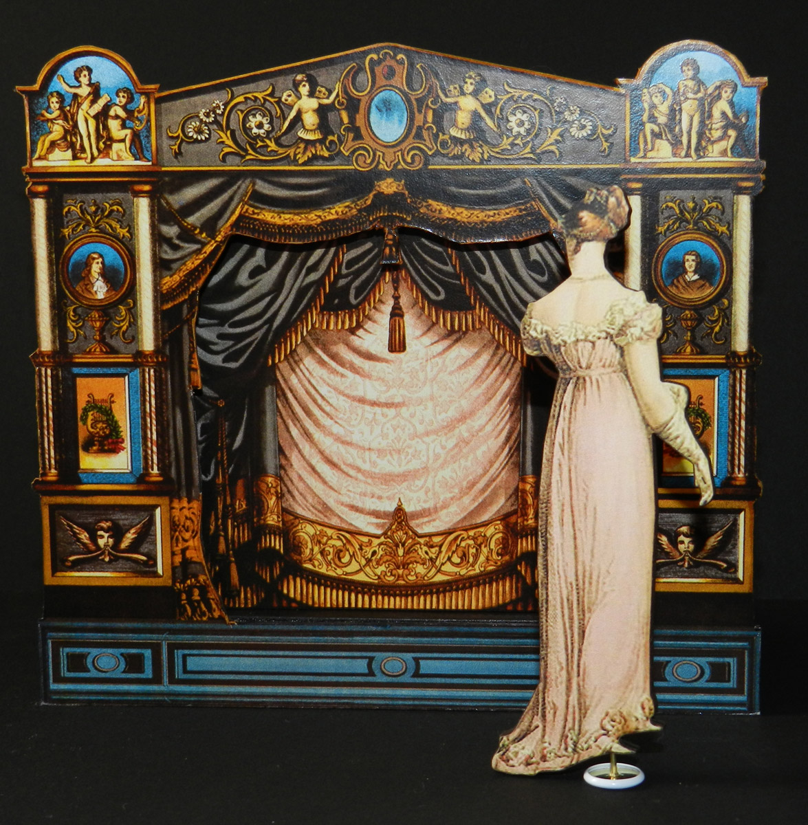 Ekduncan My Fanciful Muse Toy Theater With Wooden