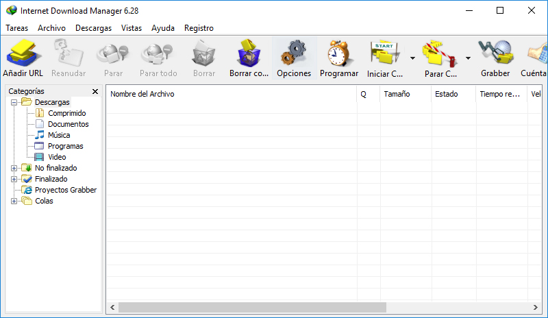 Internet Download Manager v6.29 Build 1 [Gestor de Descargas] Español Full Crack
