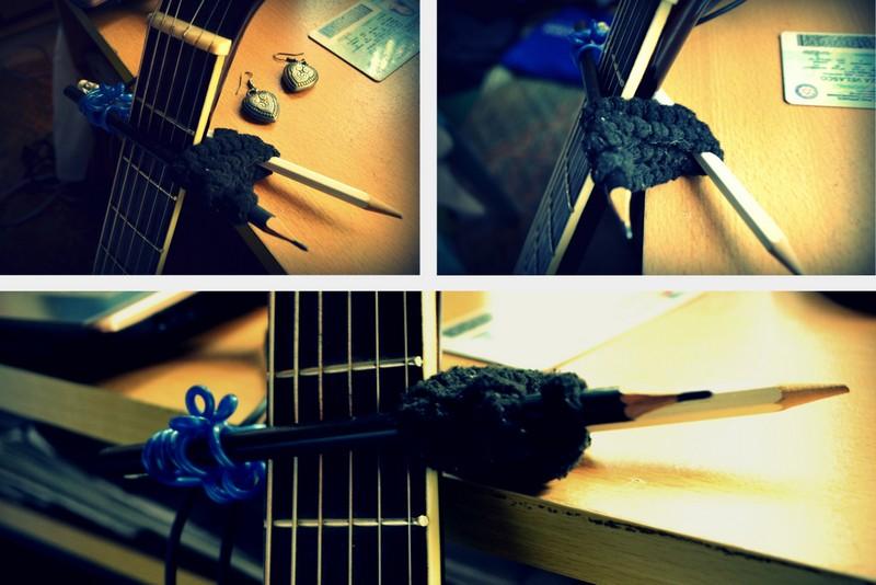 Liza S Hut Diy Guitar Capo
