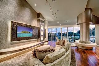 sala de estar grande y moderna