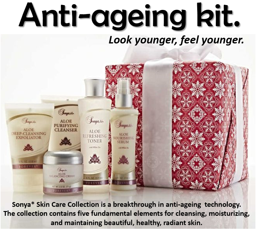 THE PERFECT ANTI-AGEING KIT.