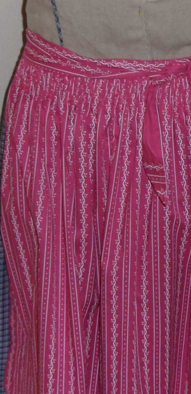 langen jeansrock verschönern mit spitze