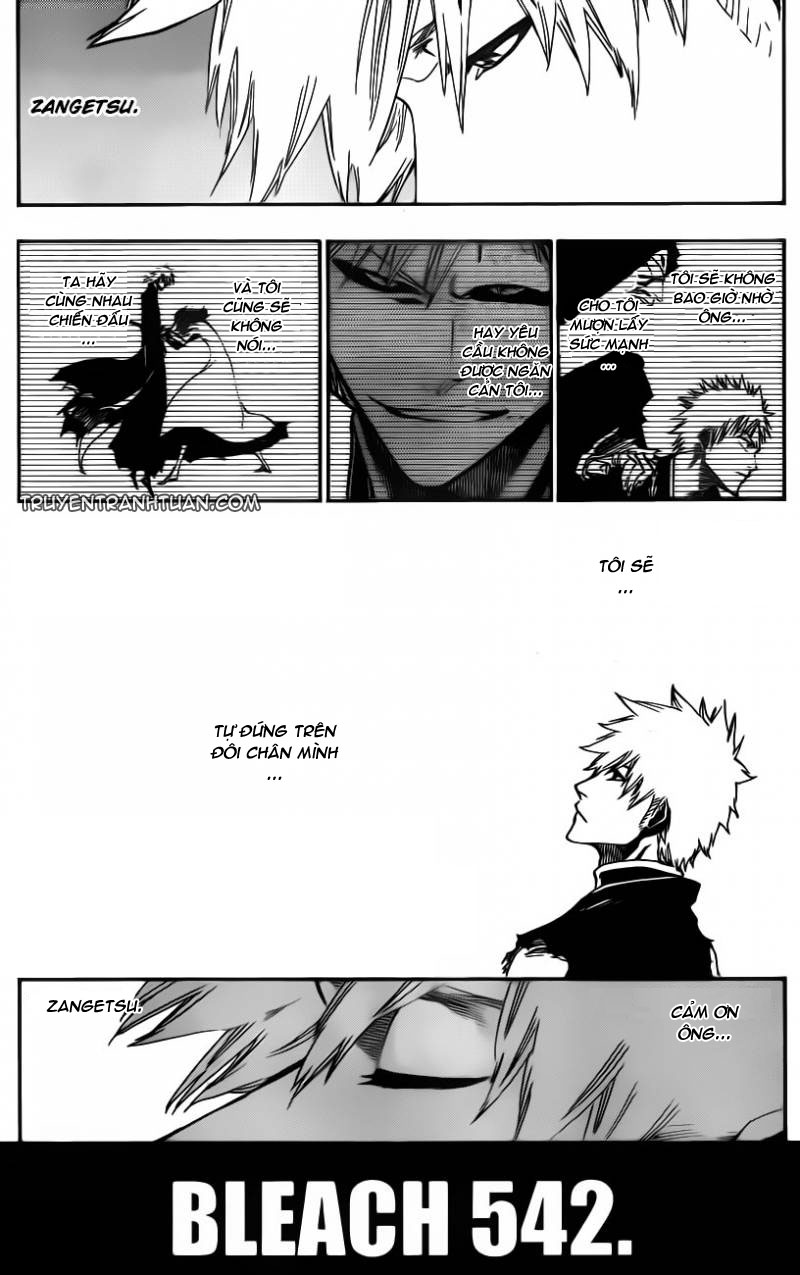 Bleach chapter 542 trang 10