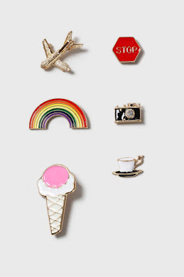 Fun Pin Pack Topshop Jewellery Blog