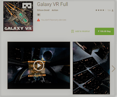 Galaxy VR App