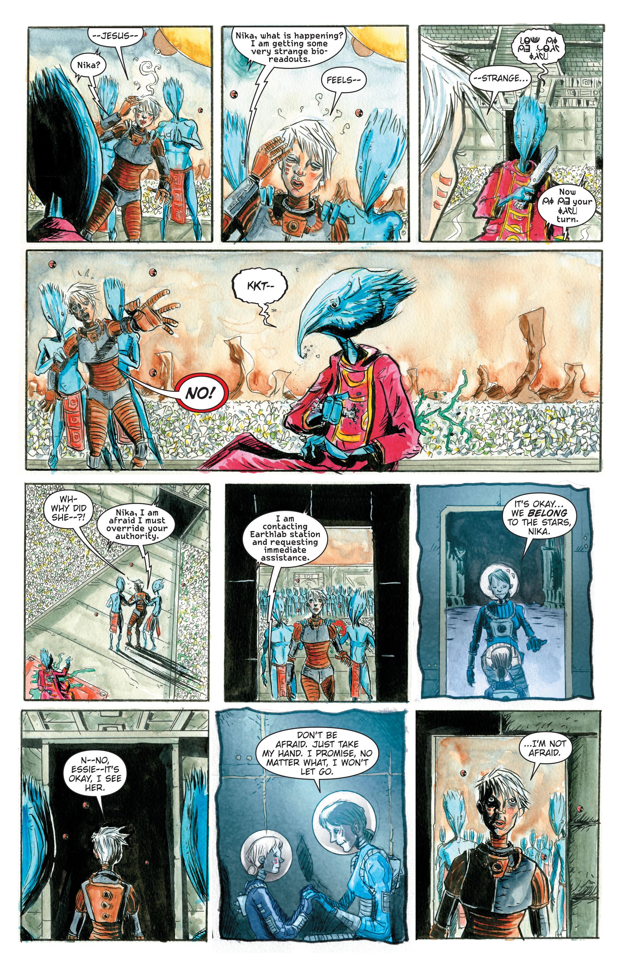 Read online Trillium comic -  Issue # TPB - 17
