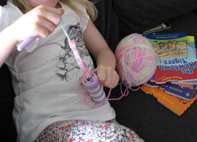 Threading My Way French Knitting Corking Spool Knitting Loom