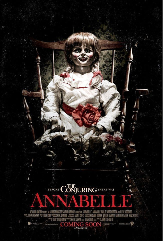 Annabelle 2014 Full Movie In Hindi 720p Bluray 731MB Download