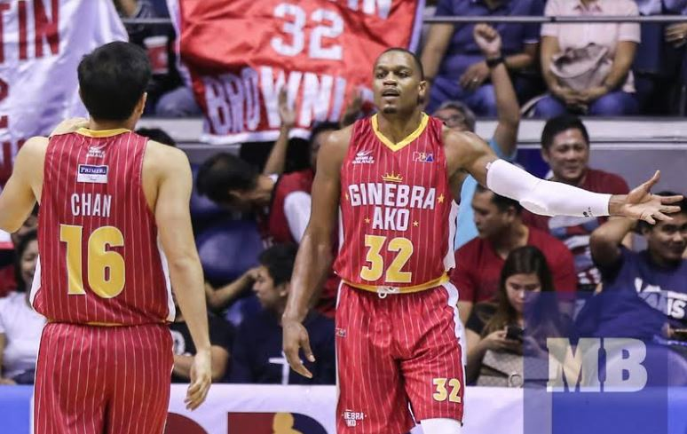 Barangay Ginebra handles Rain Or Shine with ease, takes Game 1