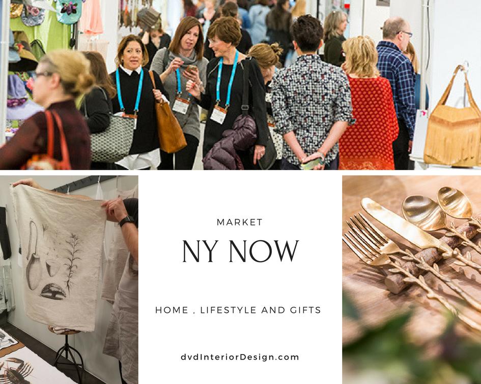 dvdInteriorDesigncom NY NOW Showcase of New Products for Home Decor
