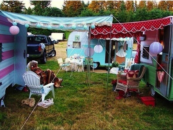 camping girly