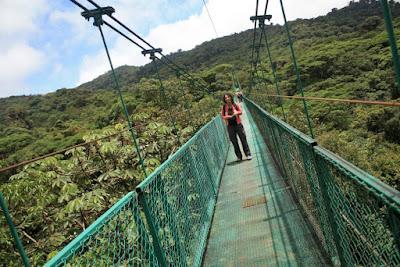 Puente Colgante en Costa Rica