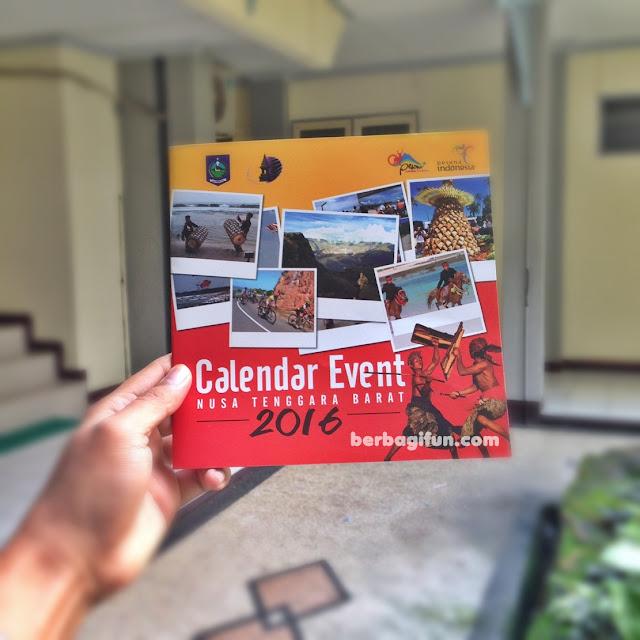 kalender event lombok sumbawa 2016