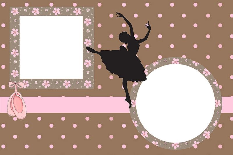 Invitaciones Para Imprimir Gratis De Ballet Ideas Y