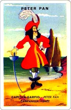Juego Familias Walt Disney Carta Peter Pan 2