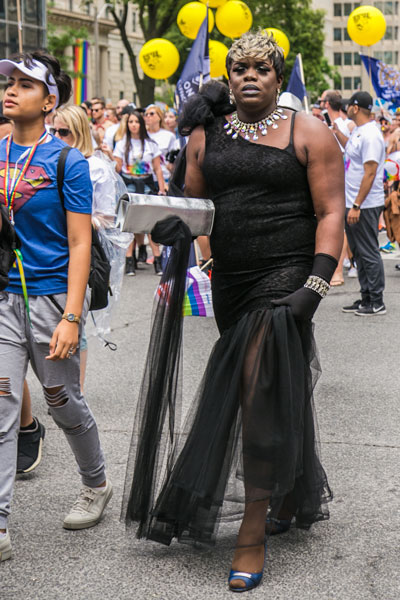 Toronto Pride Parade 2017 gay black man