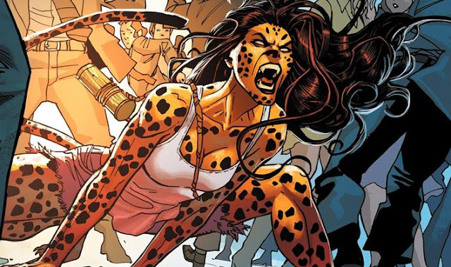 cheetah dc musuh wonder woman