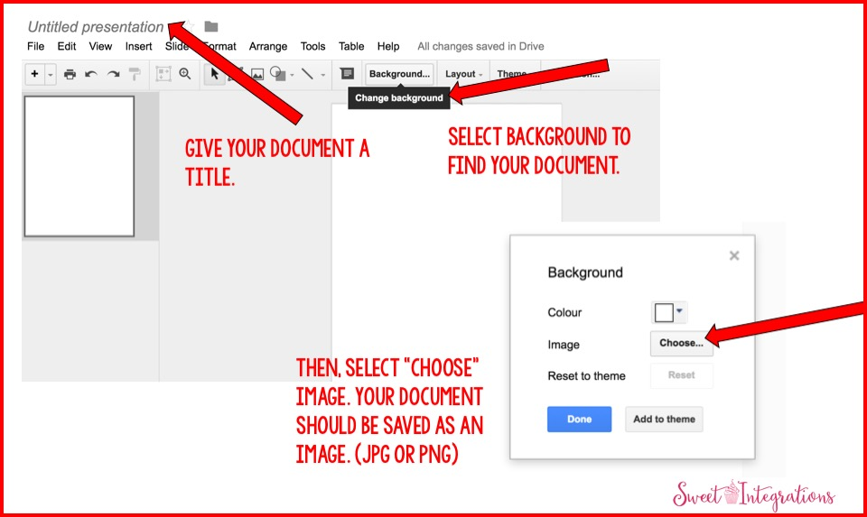 creating editable documents with google docs sweet integrations