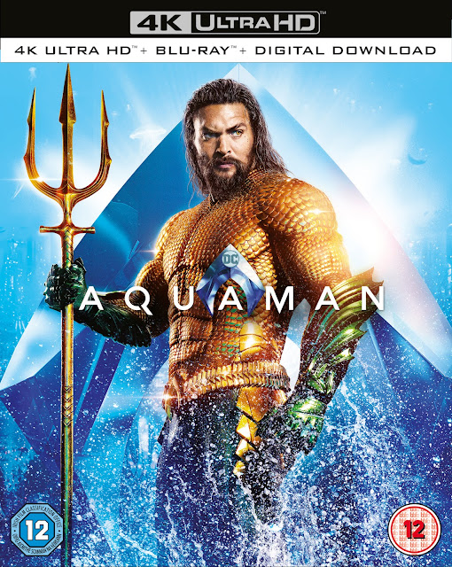 aquaman bluray features