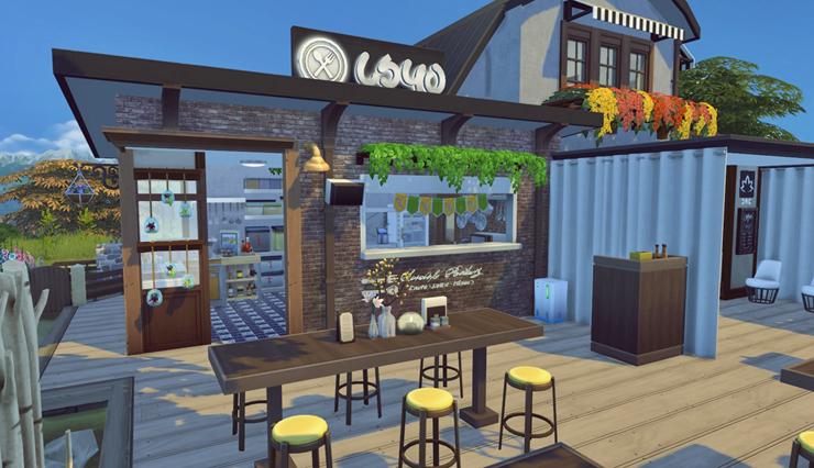 My sims restaurant by bangsain