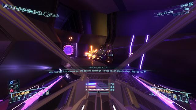 Overload - Lancer and Devastator weapons