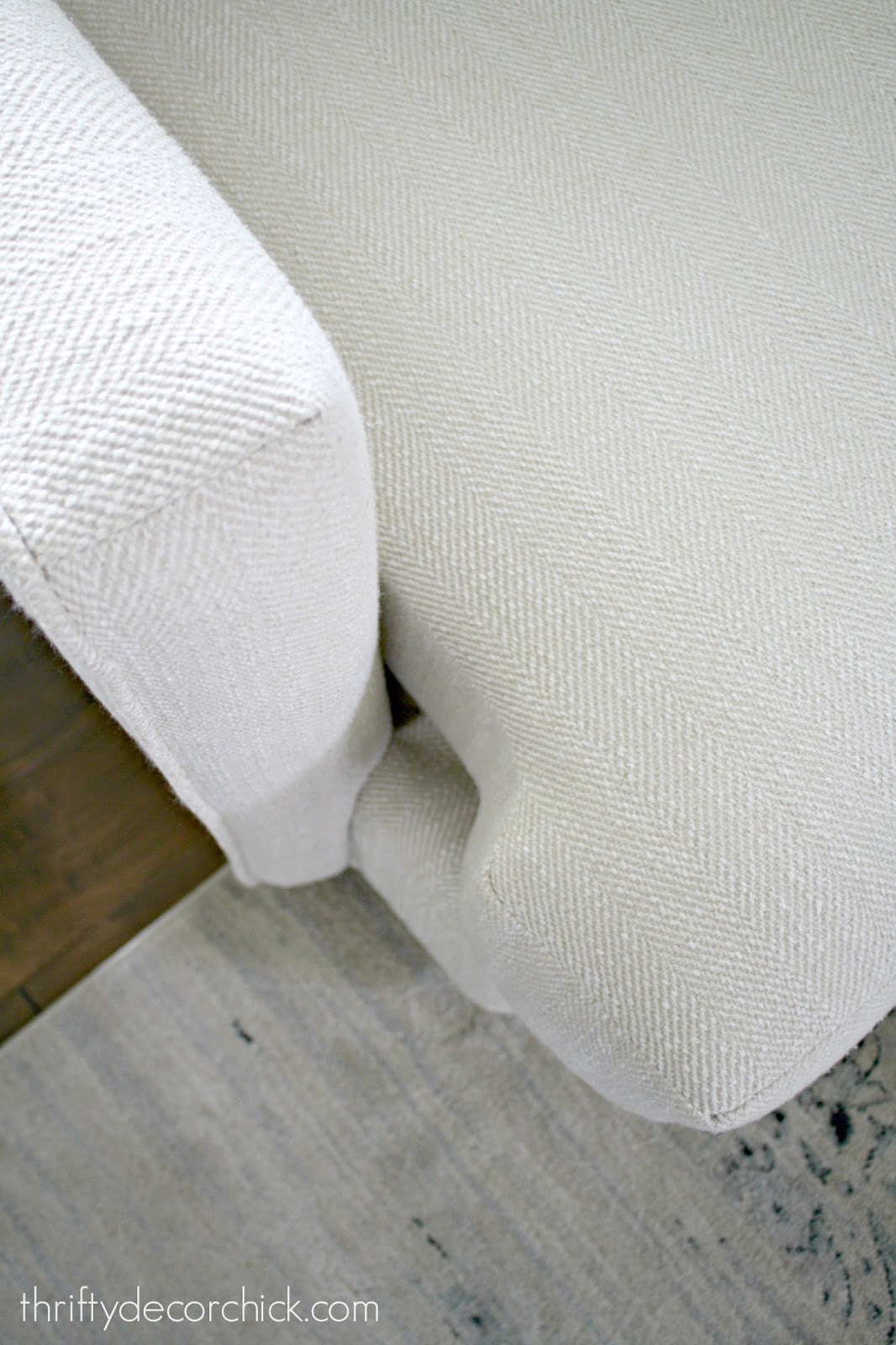 Easy fix for sliding couch cushions