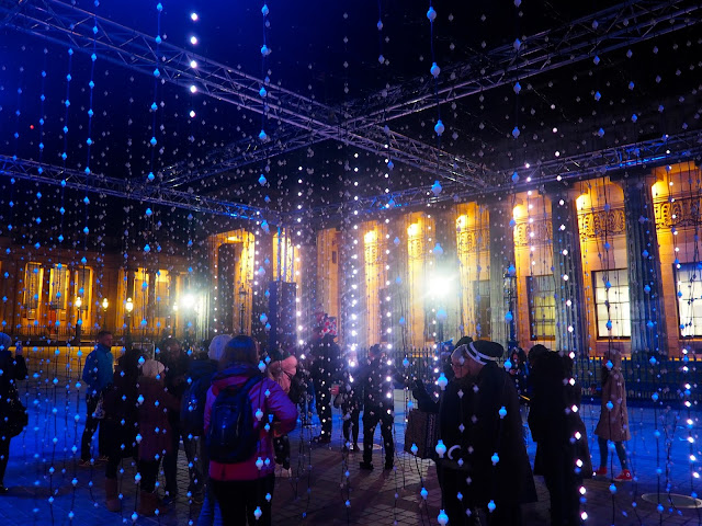 Ocean of Light, The Mound, Edinburgh Lumen sound & light installations