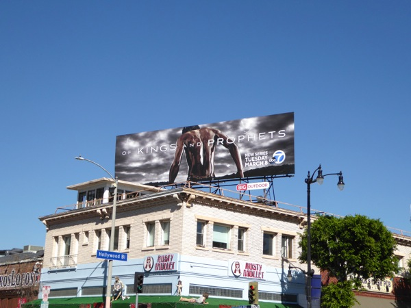 Of Kings and Prophets season 1 billboard
