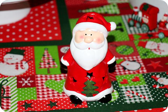 Decoração da Mesa : Festa de Natal : Papai Noel