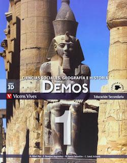 Libro Geografía e Historia 1º ESO Vivens Vives Proyecto Nuevo Demos