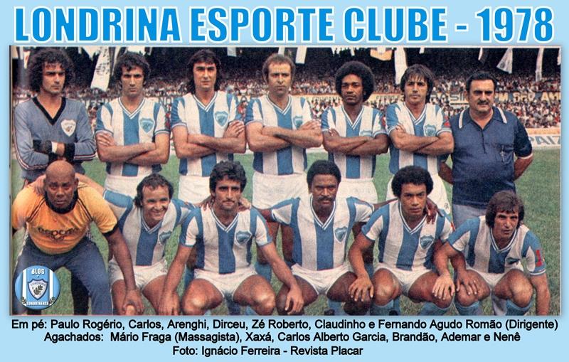 Resultado de imagem para londrina ec 1981